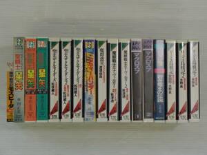 アニメソングのカセットテープ まとめて17本 聖闘士星矢 シティーハンター ロードス島戦記1-3巻 聖エルザクルセイダーズ1-3巻 など