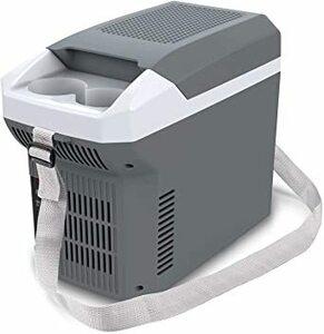 保冷温庫 ポータブル 温冷庫 8L 2WAY USB端子搭載 ミニ冷蔵庫 DC12V [車載用 ホット&クール] 冷蔵庫 小型