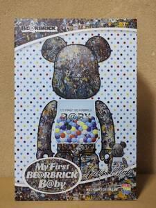 未開封新品 MY FIRST BE@RBRICK B@BY Jackson Pollock Studio Ver.100% & 400% マイファーストベアブリック ベアブリック メディコムトイ