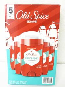 old spice pure sport オールドスパイス ピュアスポーツ 5個入 制汗剤