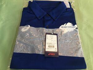L【送料無料】東京オリンピック 2020 新品 アシックス 非売品 ポロシャツ メンズ L テストイベント 関係者配布品 ノベルティ ボランティア