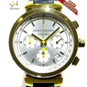 LOUIS VUITTON(ヴィトン) 腕時計 タンブール Q112L メンズ シルバー