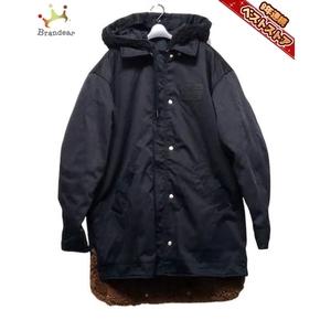 ディーゼル DIESEL サイズL - 黒 メンズ 長袖/リバーシブル/フード着脱可/冬 新品同様 コート