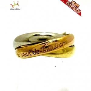 カルティエ Cartier 3連リング トリニティ K18スリーカラー サイズ:52 アクセサリー(指)