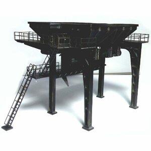 新品1: 87 HO スケール 作業現場 列車 建築 シーン モデル 構築キット DIY ジオラマJXBQ
