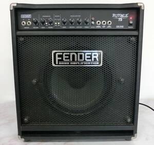 ■中古 Fender フェンダー ベースアンプ RUMBLE 75