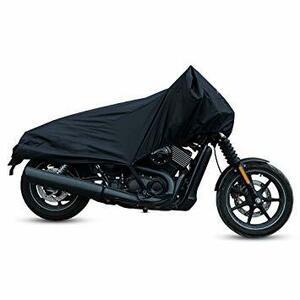 ZOM ブラックTX-6Buxcell バイクカバー バイク車体カバー ハーフカバー 防水 風飛び防止 UVカット 防塵