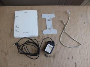 NEC 無線LANルーター PA-WR8160N-ST 11n対応ルーター 動作品 211016102