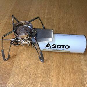 SOTO ソト シングルバーナー ST-310用「風防」新品