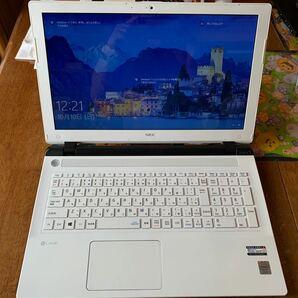 価格の変更いたしましたNEC LAVIE PC-NS100B2W 使用浅 仕事?ファミリー?勉強?オンライン?動画? allOK!