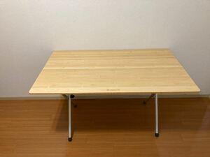 ワンアクションテーブルロング竹 LV-015T (室内での使用のみ)