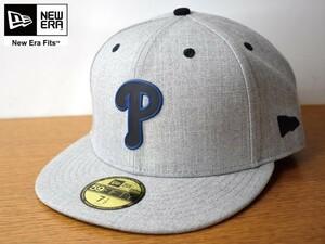 ★未使用品★NEW ERA ニューエラ 59 FIFTY【7-1/2 - 59.6cm】Philadelphia Phillies フィリーズ MLB キャップ 帽子 USモデル H325
