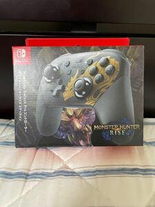 Nintendo Switch Proコントローラー モンスターハンターライズエディション ニンテンドースイッチ