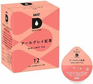 12杯 UCC ドリップポッド 専用カプセル アールグレイ紅茶 12杯分 30g ポッド・カプセル