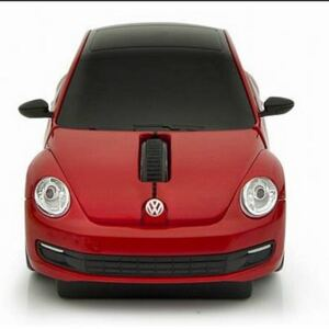 Click Car Mouse フォルクスワーゲン New ビートル 657113 (レッド)