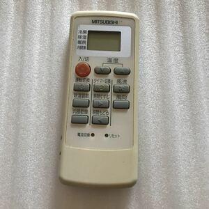 動作未確認 MITSUBISHI 三菱 エアコン MP31 リモコン 暖房 冷房 除湿 除湿機 風速 内部乾燥 空調機器 ジャンク