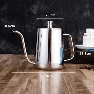ステンレスケトル600ml やかん ポット コーヒー 細口 キャンプ アウトドア