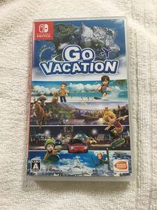 GO VACATION ゴーバケーション ニンテンドースイッチ Nintendo Switch