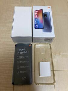【超美品】シャオミ Xiaomi Redmi Note 9s 4GB 64GB グレイシャーホワイト 国内版 SIMフリー