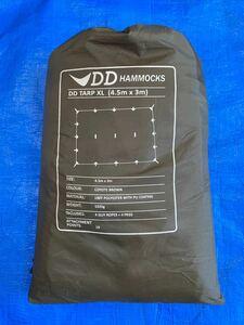 DDタープ XL 4.5×3 コヨーテブラウン