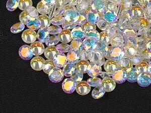 ■ABカラー キュービックジルコニア ルース 4mm おまとめて大量約200個セット 人工ダイヤモンド ラウンドブリリアントカット Nw54-