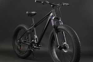 ★★ CALLE! New car! Suspension Hawk with lock function! Calle new 26 inches × 4.0 (極) 21 Speed disc brake mounted fat bike! !