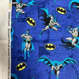生地 110cmx100cm バットマン コミック