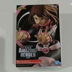 麗日お茶子 フィギュア 僕のヒーローアカデミア THE AMAZING HEROES vol.7 ヒロアカ ヒロアカフィギュア