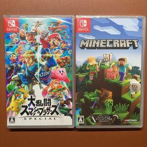 【新品未開封・匿名配送・即納】Minecraft Nintendo Switch版 大乱闘スマッシュブラザーズSPECIAL