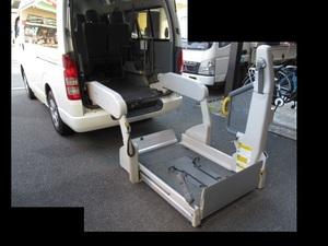 【引き取り限定】トヨタ 純正 ハイエース 200系 パワーゲート パワーリフト 介護 福祉車両 車椅子 ウェルキャブ (m063293)