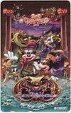 テレカ テレホンカード HALLOWEEN 2012 東京ディズニーシー カードショップトレジャー