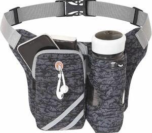 ランニング バッグ ペットボトル ホルダー付き,ジョギング 防水スボーツ用