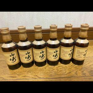 サントリー 山崎 12年 50ml ミニボトル 6本セット