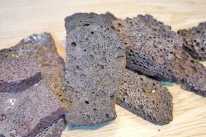 溶岩プレート 500g 苔 着生 ラン 洋蘭 チランジア パルダリウム アクアリウム
