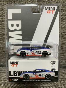 即決 MINI GT 1/64 LB ★ WORKS Nissan GT-R R35 Type 1 Rear Wing Ver.1 #46 Infinite Motorsport 新品 未開封