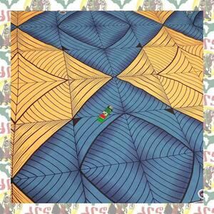 【SALE】アフリカンプリント生地 布 180cmx110cm(2ヤード) アフリカ布 アフリカ生地 アフリカ バティック ハンドメイド素材 barg-f15