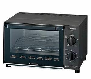 象印マホービン オーブントースター ブラック EQ-AG22-BA