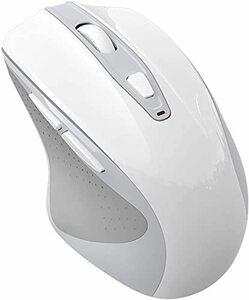 お買得 ワイヤレスマウス 無線 ボタン静音 搭載 充電式 節電モデル 3DPIモード 6鍵ボタン高精度