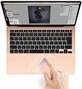 新品Macbook Air 13 TOWOOZ2枚パック】2020 Macbook Air トラックパッド保護フィP2TV