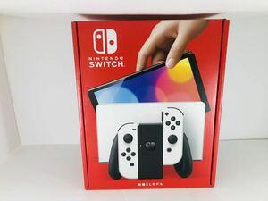 1円~ 新品 未開封 ニンテンドー スイッチ Nintendo Switch 有機EL 新型 任天堂 Nintendo Switch 本体 保証印あり ホワイト 白Joy-Con