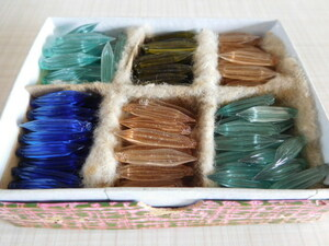 昭和レトロ 未使用ガラスペン先 当時の共箱 140本以上まとめて 希少 最後の1箱です