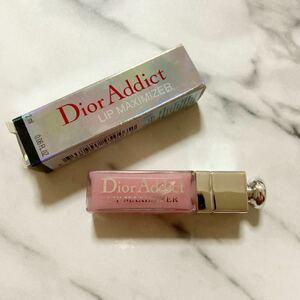 Dior ディオールアディクトリップ マキシマイザー リップグロス 001 ピンク