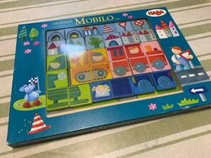 即決 送料無料 ドイツ HABA ハバ  MOBILIO マグネット パズル 知育玩具