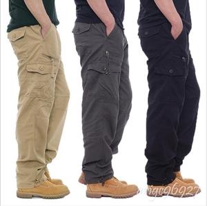 ★新品カーゴパンツ メンズ ワークパンツ サルエルパンツミリタリーパンツ ジョガーパンツ チノパン お兄系 M-3XL