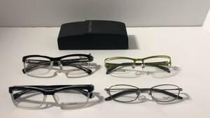 ポリス police メガネ まとめ売り お買い得 セルフレーム メタルフレーム 眼鏡 新品未使用品 V1906J V1905J V8702J VPL080
