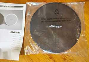 未開封品 「DS40Fのグリル」BOSE DS40FB 純正グリル スピーカーネット サランネット 黒 ボーズ 説明書付き