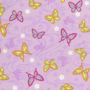 鬼滅の刃。胡蝶しのぶカナヲのイメージ生地ラベンダー。