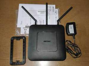 BUFFALO WXR-1750DHP2 無線LANルーター 無線LAN親機 中継機にも! 中継器