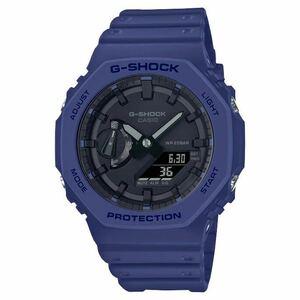 新品未使用 送料込 CASIO G-SHOCK GA-2100-2AJF アナデジ 腕時計 カシオ ジーショック カーボンコアガード ネイビー 国内正規品 タグ付
