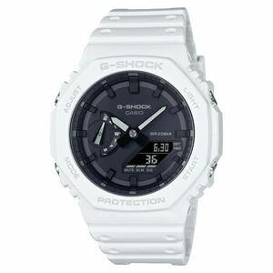 新品未使用 送料込 CASIO G-SHOCK GA-2100-7AJF アナデジ 腕時計 カシオ ジーショック カーボンコアガード ホワイト 国内正規品 タグ付